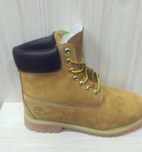 Ботинки Timberland Yellow мех