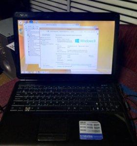 Ноутбук Asus K50, 2 ядра, 2 гига, 320 гб