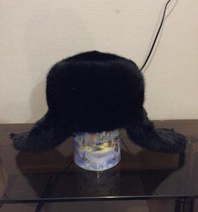 Новая мужская шапка  размер 56,58