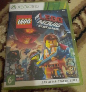 LEGO MOVIE VIDEOGAME для xbox 360 лицензия