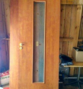 Дверь межкомнатная бу.