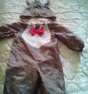 Новогодний костюм мишка 2-3 года