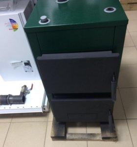 Твердотопливный отопительный котёл Мозырь 12,5 кВт