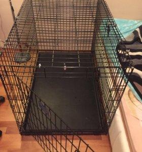 Большая клетка для собак