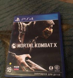 Mortal kombat x для PS4