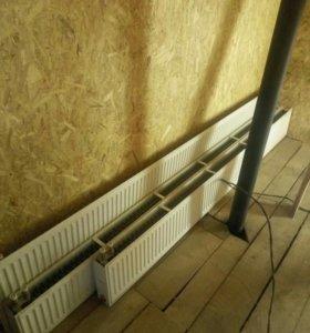 радиаторы оттопление стальные
