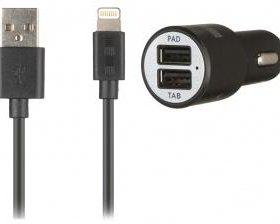 20736 QUMO Auto Energy 2 USB кабель Apple 8 pin