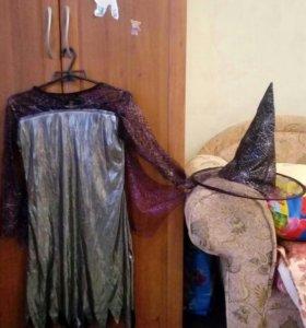 Новогодний костюм ведьмочки