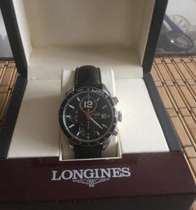 Часы хронограф Longines оригинал механика.
