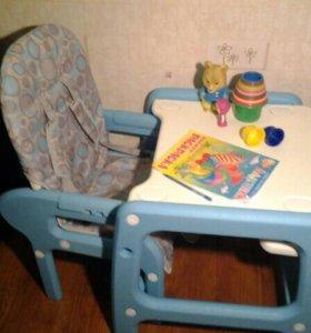 Столик-трансформер для кормления детский!