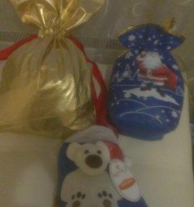 Праздничная упаковка для новогодних подарков100