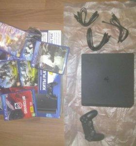 PlayStation4 + 4 игры