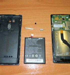 Материнская плата и аккумулятор от Acer Z150