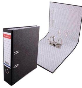 Папка- регистратор 0,7 см с кармашком на торце