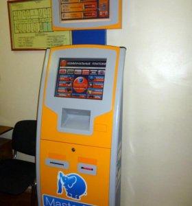 Терминал платежный апп-3 с рекламным монитором.