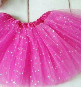Новая юбка из сетки, фатина