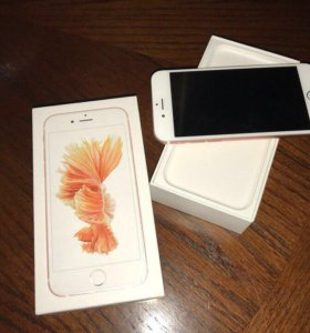 Айфон 6s розовый 16Gb
