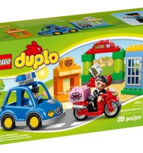 Лего дупло полицейская погоня