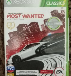 Игра на Xbox 360 Need for Speed Most Wanted