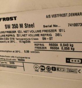 Двухкомпрессорный холодильник Vestfrost