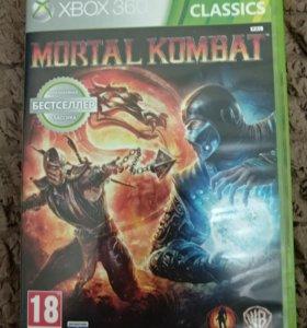 Игра на Xbox 360 Mortal Kombat 9