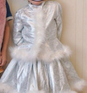 Детский костюм снегурочки прокат