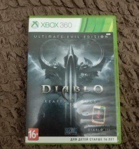 Игра на Xbox 360 Diablo 3 reaper of souls