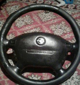 Опель вектра б в мультируль, рулевое колесо