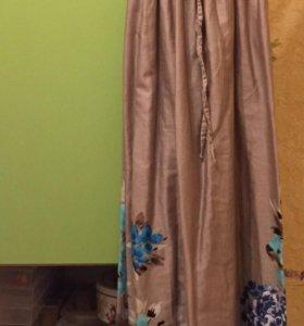 Новое платье из 100% сатина