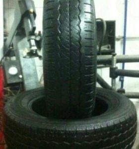 Продам летние шины hankook radial RA08 215/70 R16C