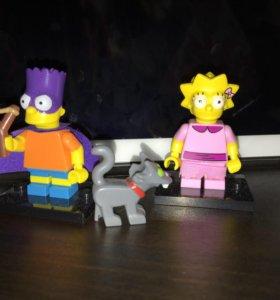 Фигурки The Simpsons Барт и Лиза
