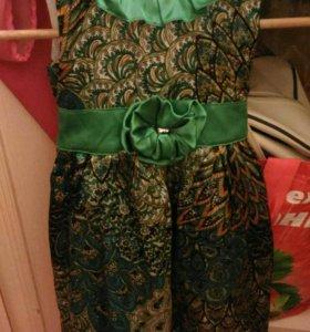 платья вечерние с хб подкладкой 2-4 года