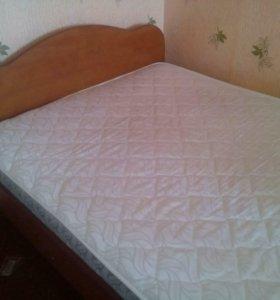 Новый кровать с матрасом фирмы Сарма