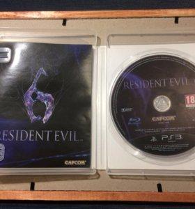 Игра на PS3 - Resident evil 6
