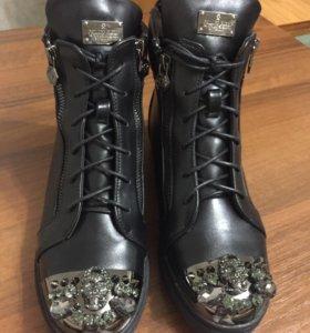 НОВЫЕ Ботиночки зимние
