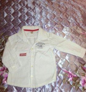 Рубашка фирмы crockid, рост 80