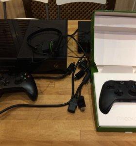 Xbox One 500 + джойстик+ 7  игр.