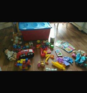 ящик игрушек ночник книжки