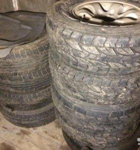 Колеса в сборе с резиной Bridgestone Dueler A/T
