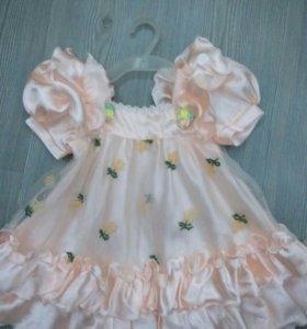 Платье для девочки р. 104