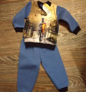Тёплый костюм, р86-92