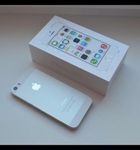 iPhone 5s 16 GB silver обмен