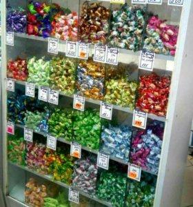Витрины для конфет