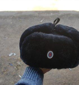 Зимняя шапка полицейского