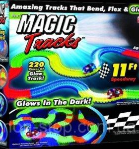 Magic track 220 деталей и 2 машинки