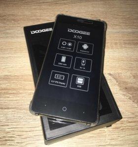 Новый Doogee X10 8gb.