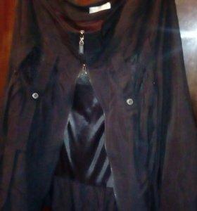 Юбка черная модная