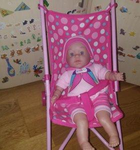 Игровой набор, кукла, коляска
