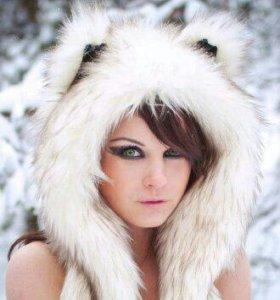 Зверошапка Полярный волк