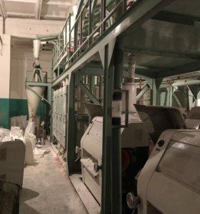 Мукомольный завод-мельница